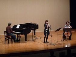 piano、cello、oboeによるピースコンサート