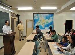 1日目の歓迎セレモニーでは、3日間のスケジュールや宿泊施設の説明がありました