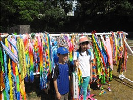 東都生協平和代表団の子どもたち