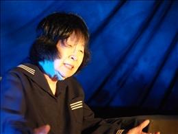 堀絢子さんの一人芝居「朝ちゃん」
