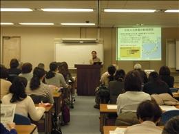 中央は講師の吉田明子さん