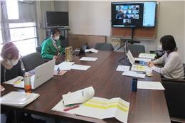 JAやさとプロジェクトメンバーが東都生協会議室から参加