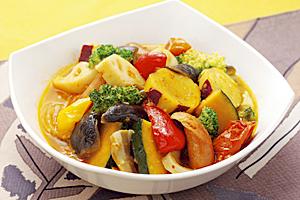 秋野菜のラタトゥイユの写真