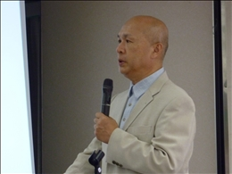 講師は放射線防護学の第一人者・野口邦和氏