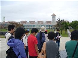 沖縄県立平和祈念資料館にも立ち寄りました
