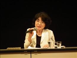 (社)東友会の中伏幸子さんがヒロシマ被爆を証言