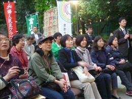 集会参加者の様子